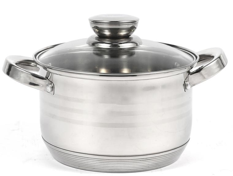 シングルキッチンキャセロールステンレス鋼調理キッチンポット調理器具セット