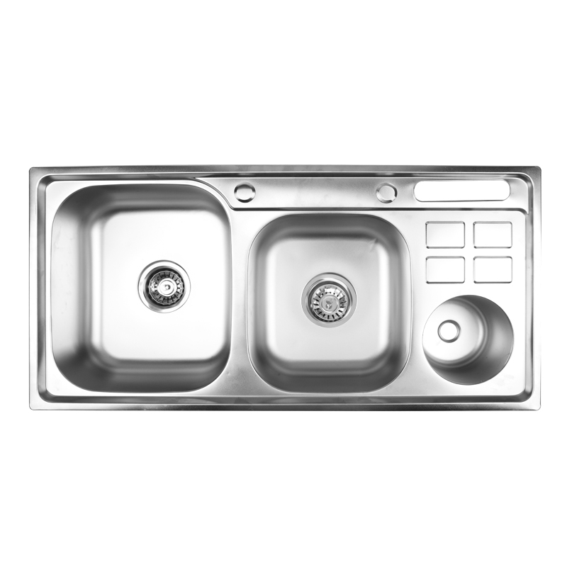 Multifunction factory price topmount stainless steel kitchen sink