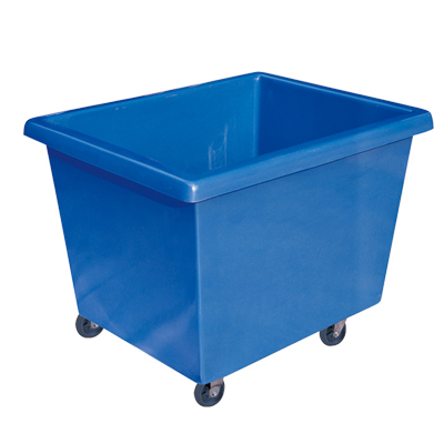 High quality Professional strong poly FRP laundry cart trolley hotel for housekeeping