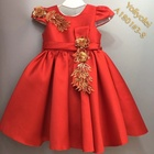 Little Baby Kid Retro Gown Dress Set For Kid