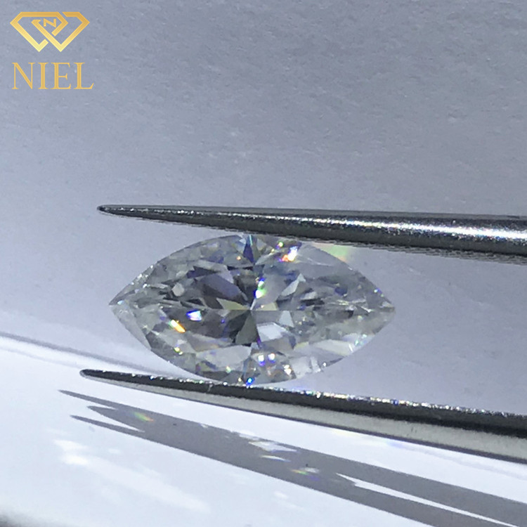 2ct d ef color synthetic <strong>diamond</strong> with certificate moissanite marquise