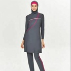 MOTIVE FORCE Promotional Islamic Swimwear Over Sized Swimsuit OEM/ODM Service Available