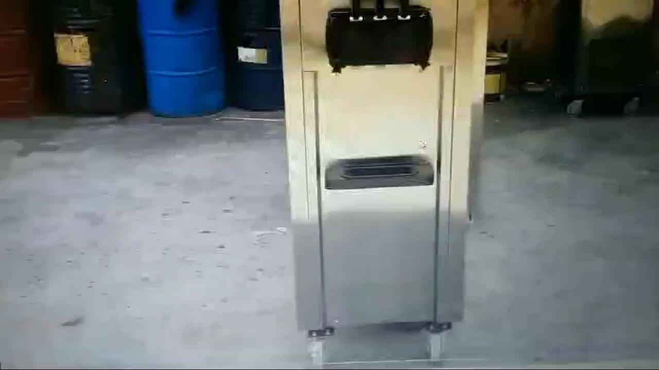 Machine à crème glacée molle commerciale avec bon prix