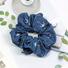 Легкая женская веревка для волос для девочек, модная эластичная резинка для волос синего цвета, резинка для волос, держатель для хвоста, акс...(Китай)