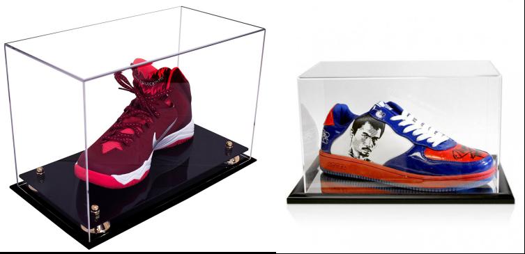 Boîte À Chaussures En Acrylique Transparent Pour Chaussures De Course Nike Boîte Rectangle En Plexiglas Pour Chaussures Boîte À Chaussures En