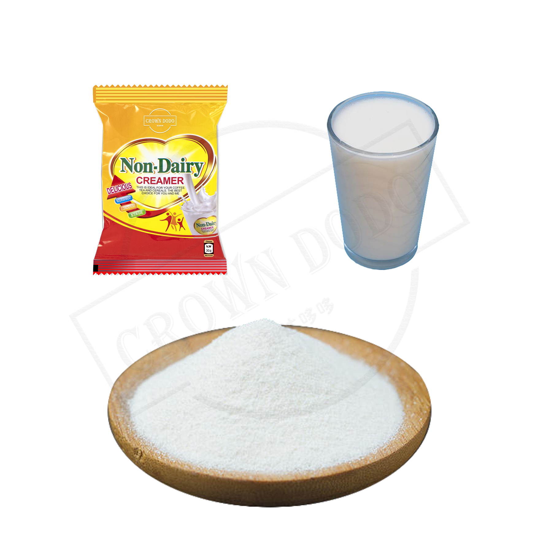 Milk powder from non dairy creamer corn flavor quick soluble in cold water dedicated to coffee and milk tea popular milk drinks