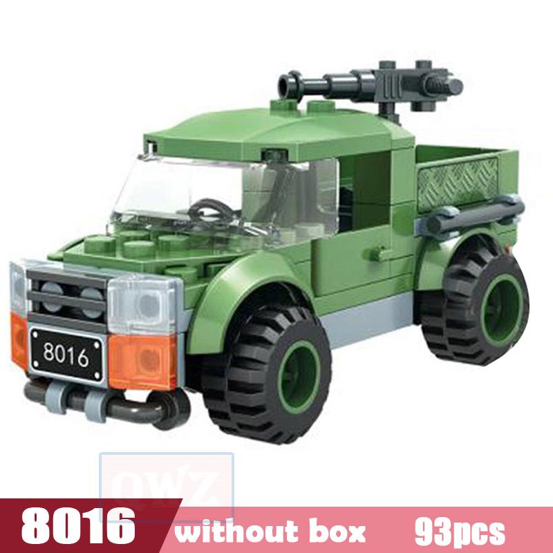 QWZ армейский Танк Legoes строительные блоки кирпичи военное оружие Brinquedo Menina игрушки для детей Рождественский подарок(Китай)