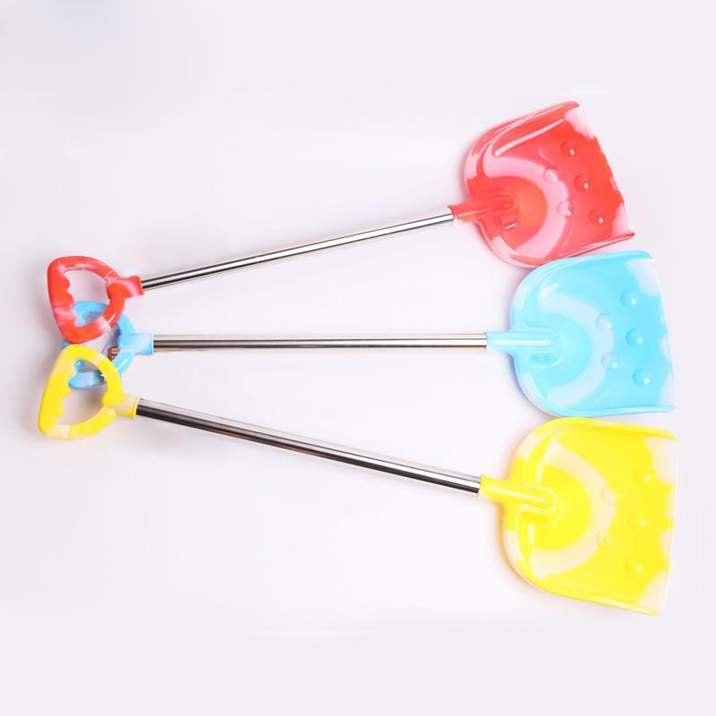 Hot selling fun toys stainless steel tube garden shovel children's beach toys