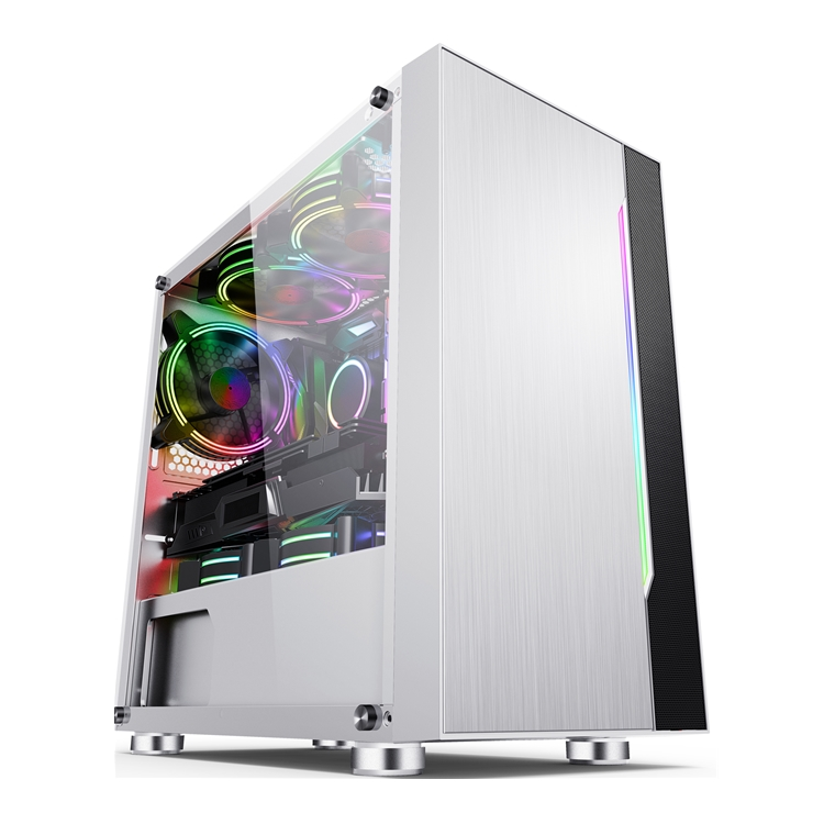 JNP-CQ02 White ABS Plastic Panel Case Body Inside Structure Micro gaming pc case
