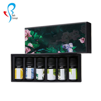 Bathconcept 2019 6pcs Gift set Pure Essential Aromatherapy Oils
