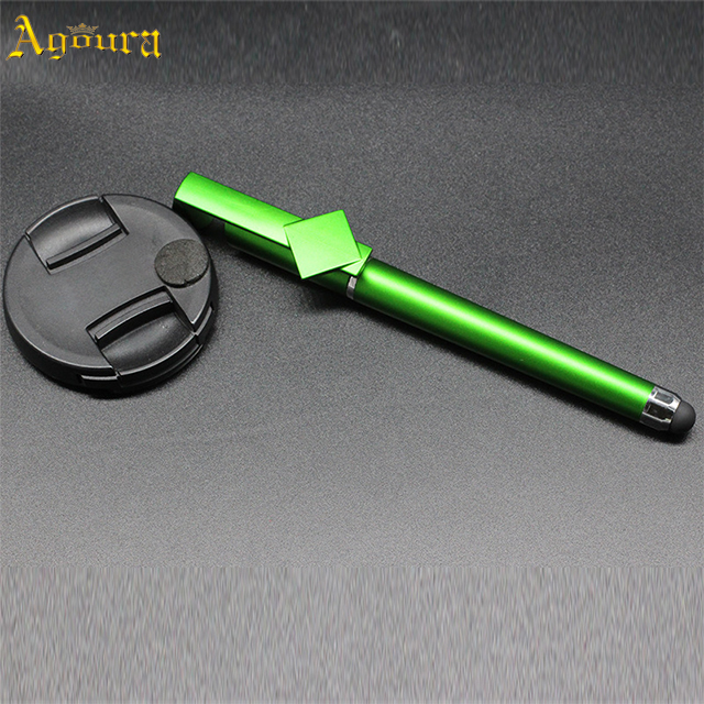 Hot wholesale excellent quality Qr code capacitive pen mobile phone holder pen