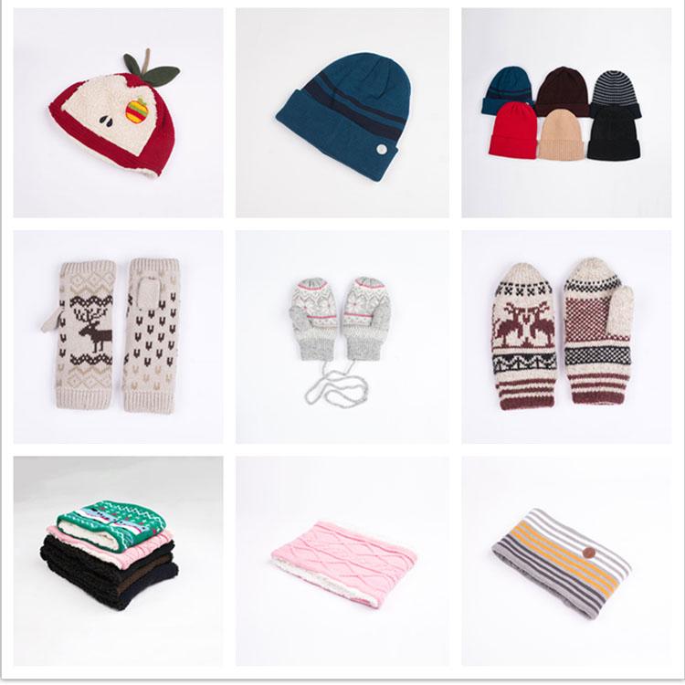 도매 재미있는 겨울 따뜻한 장갑 핑거리스 니트 장갑