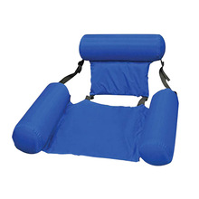Pvc Zomer <span class=keywords><strong>Opblaasbare</strong></span> Opvouwbare Drijvende Rij <span class=keywords><strong>Zwembad</strong></span> <span class=keywords><strong>Water</strong></span> Hangmat Air Matrassen Bed Strand <span class=keywords><strong>Water</strong></span> Sport Lounger Stoel