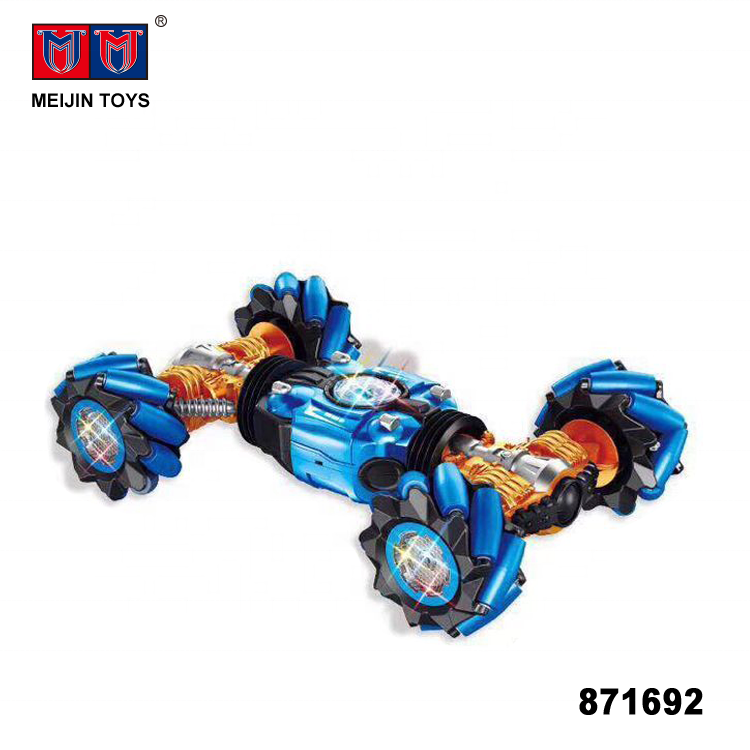 1/10 scale 12 channel 2.4G rc dancing car toy with light music