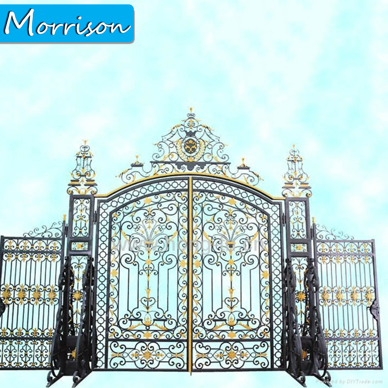2020 High Demand Export Iron Gate Design Wrought Iron Gate Iron Gate For Garden