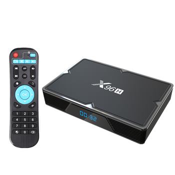 2020 Amazon hot sell Android box tv 6K android 9.0 2.4G/5G dual wifi X96h smart tv box with IPTV subscription