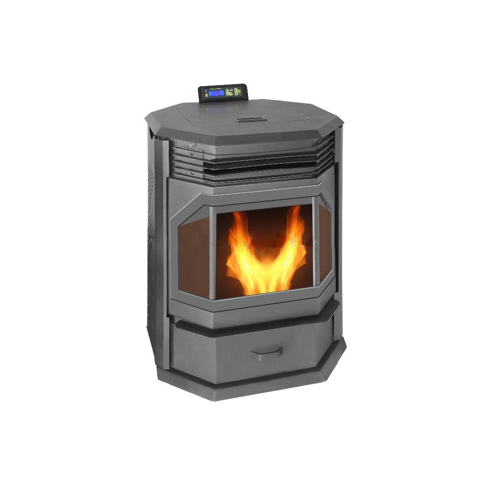 Poele A Bois Grande Capacite 13kw grande puissance thermostat réglable surchauffe protéger fourneau  d'intérieur de granule - buy poêle À granulés,poêle À granulés de  bois,cheminée