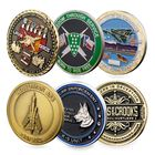 Coin Coin 3d Challenge Coin Custom 3D Logo With Double Plate Brass Challenge Coin