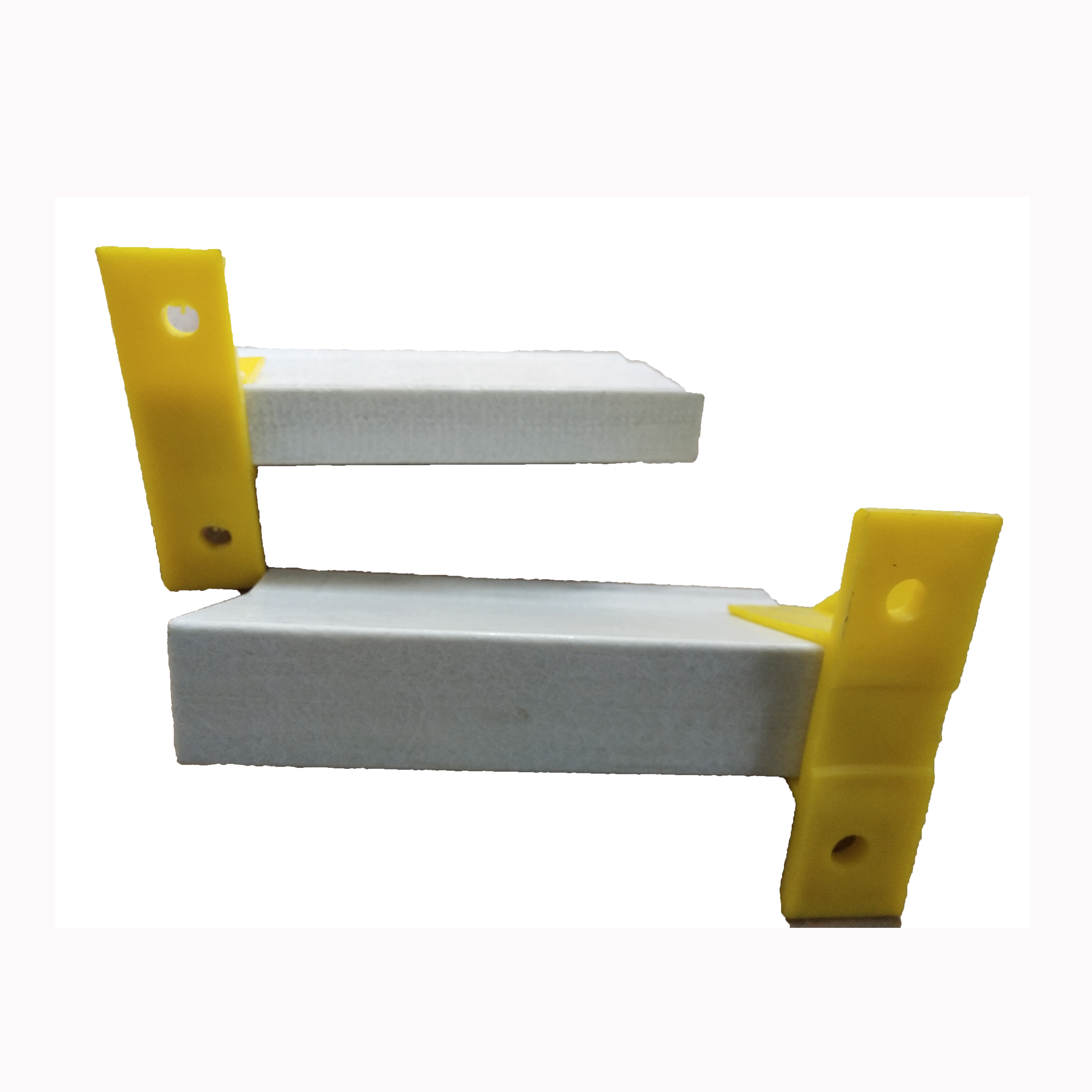 Fiberglass plastic floor beams are ideal substitutes for steel beams