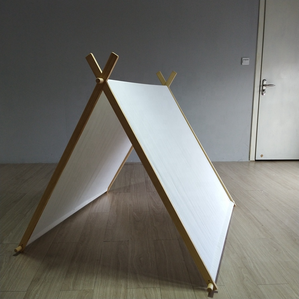 DIY Sleepover Party Decoration TeePee Frame Tent