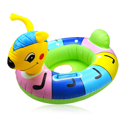 Made in China Stocked Children Kids Baby Inflatable Swimming Float Ring High Quality Animal Swim Ring