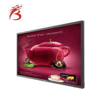 50 inch large advertising lcd screens hotel tv advertising interactive touch screen