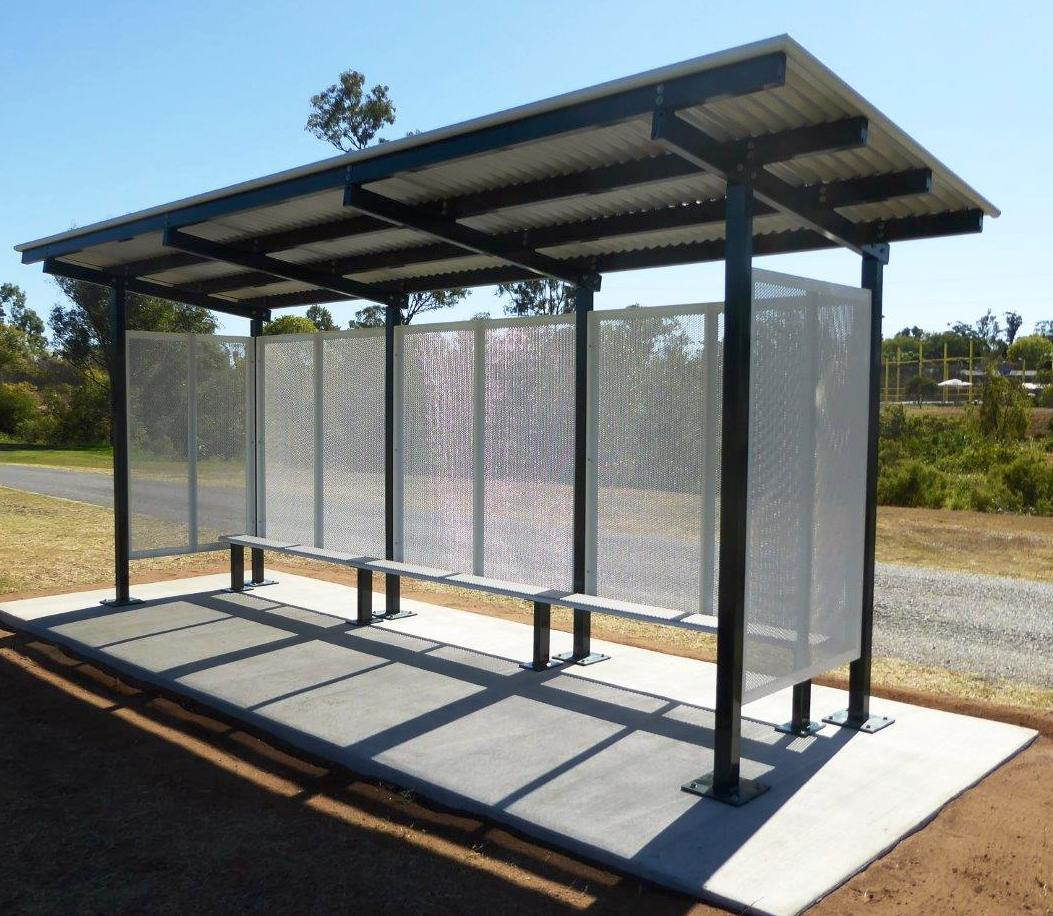 product-YEROO-Modern Advertising Bus Stop Bus Shelter Manufacturer-img