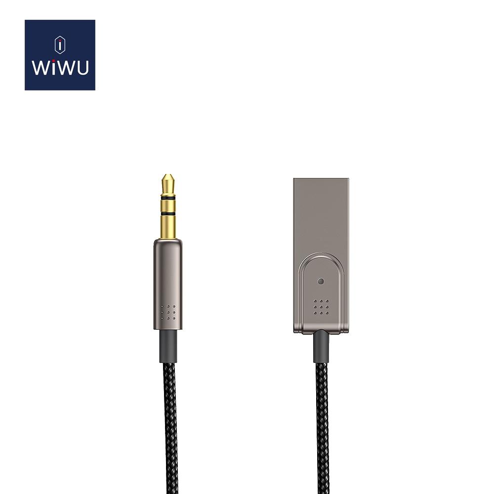 WIWU YP04 车载3.5mm转USB音频线 (https://www.wiwu.net.cn/) 数据线 第1张