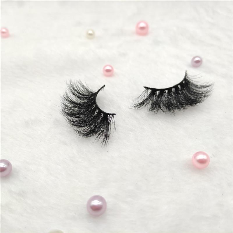 Wholesale Private Label Custom 3D High Quality Mink Lashes Fake Eyelashes Empty Box Packing False 25 Mm Eyelashes
