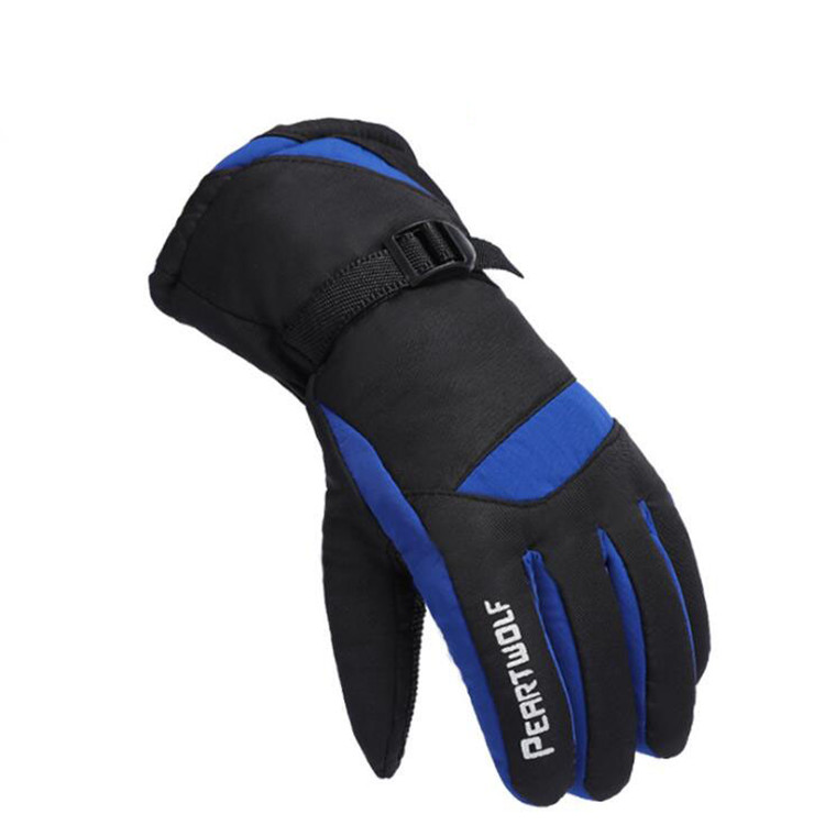 2019 new Men Women Windproof waterproof Warm Cycling Ski Snow Snowmobile snowboard Full Finger Skiing Gloves
