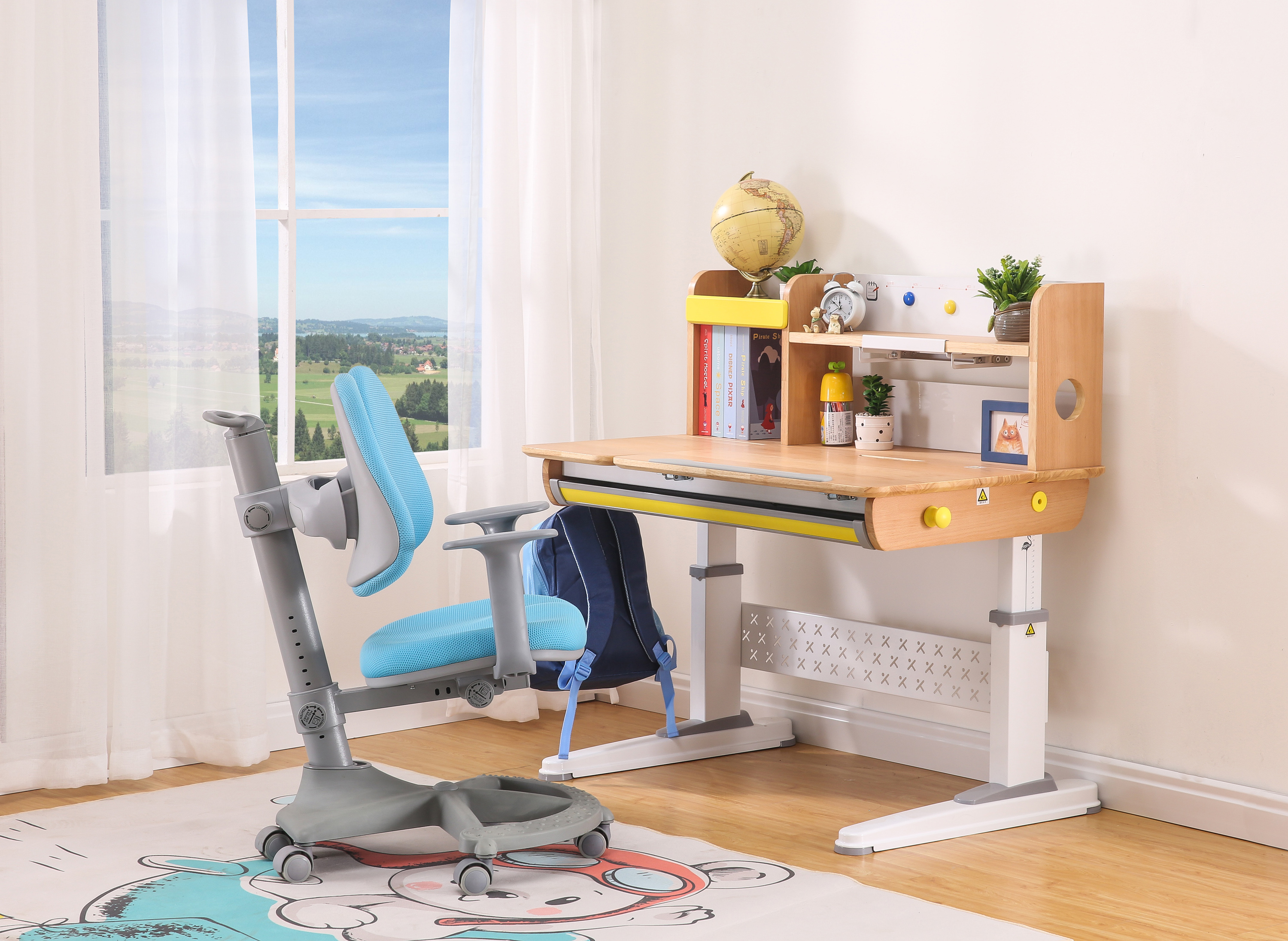 Image of: Multi Functional Children S Desk And Chair Set Kids Adjustable Desk Set Kids Study Desk Buy Los Ninos Ajustable Juego De Escritorio Y Silla Conjunto Product On Alibaba Com