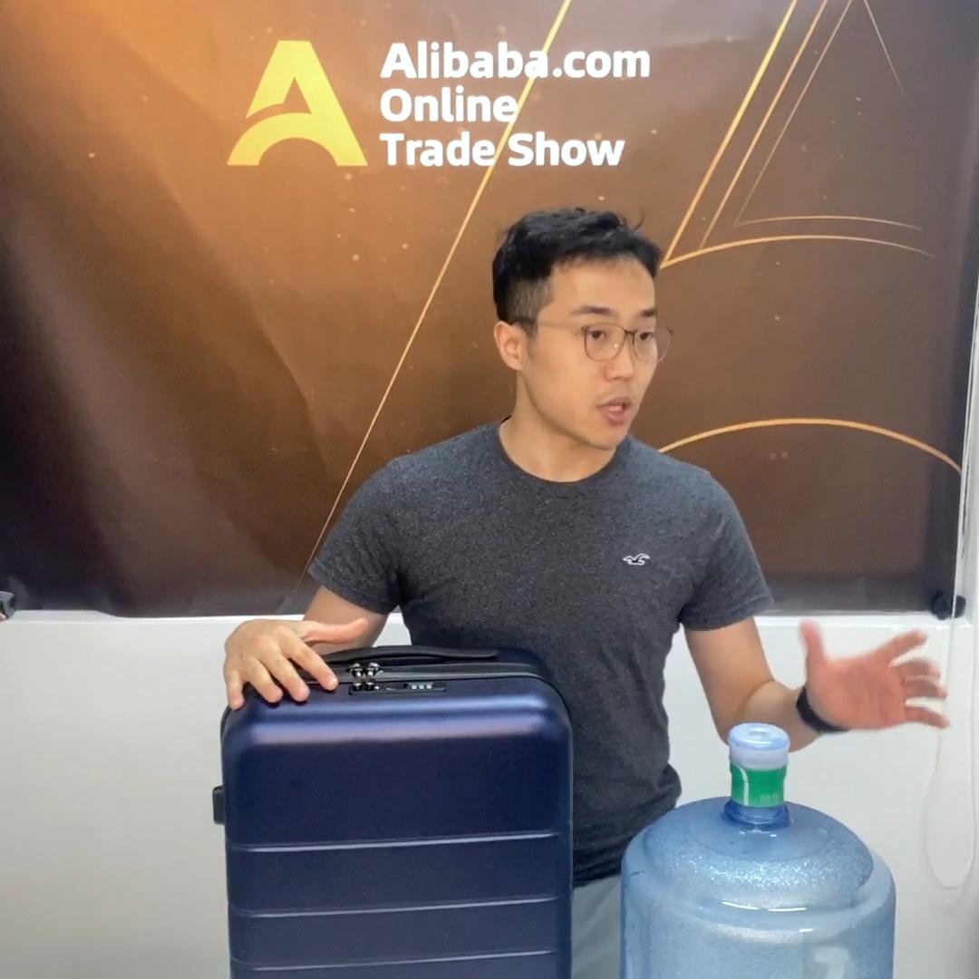 2020 Nhà Máy Tùy Chỉnh PC Vỏ Cứng ABS 3Pcs Carryon Độc Du Lịch Xe Đẩy Va Li Hành Lý Đặt Maletas De Viaje