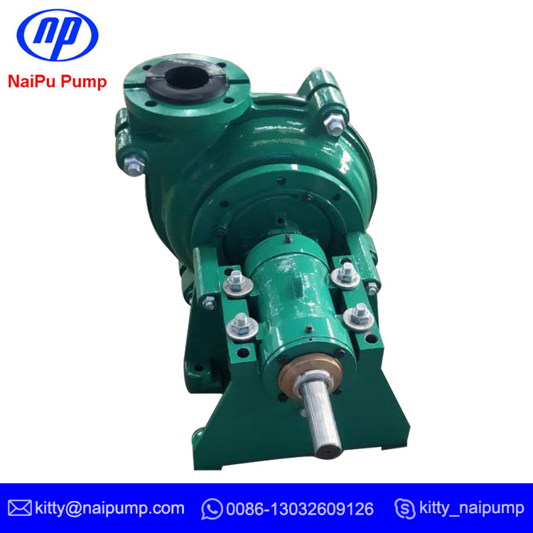 NAIPU Corrosive Resistant 4 x 3 Rubber Liner Bare Shaft Slurry Pump