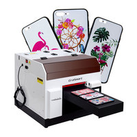 Uv Inkjet 3D Printer Uv Id Card Printer Mini Uv Printer