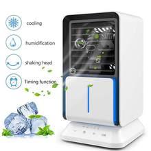 Домашний мини-кондиционер, портативный воздушный кулер, USB персональный кулер, вентилятор воздушного охлаждения, перезаряжаемый Настольны...(Китай)