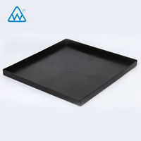 PET PP PS customized disposable blister clear plastic esd pcb ic tray precision electronic tray