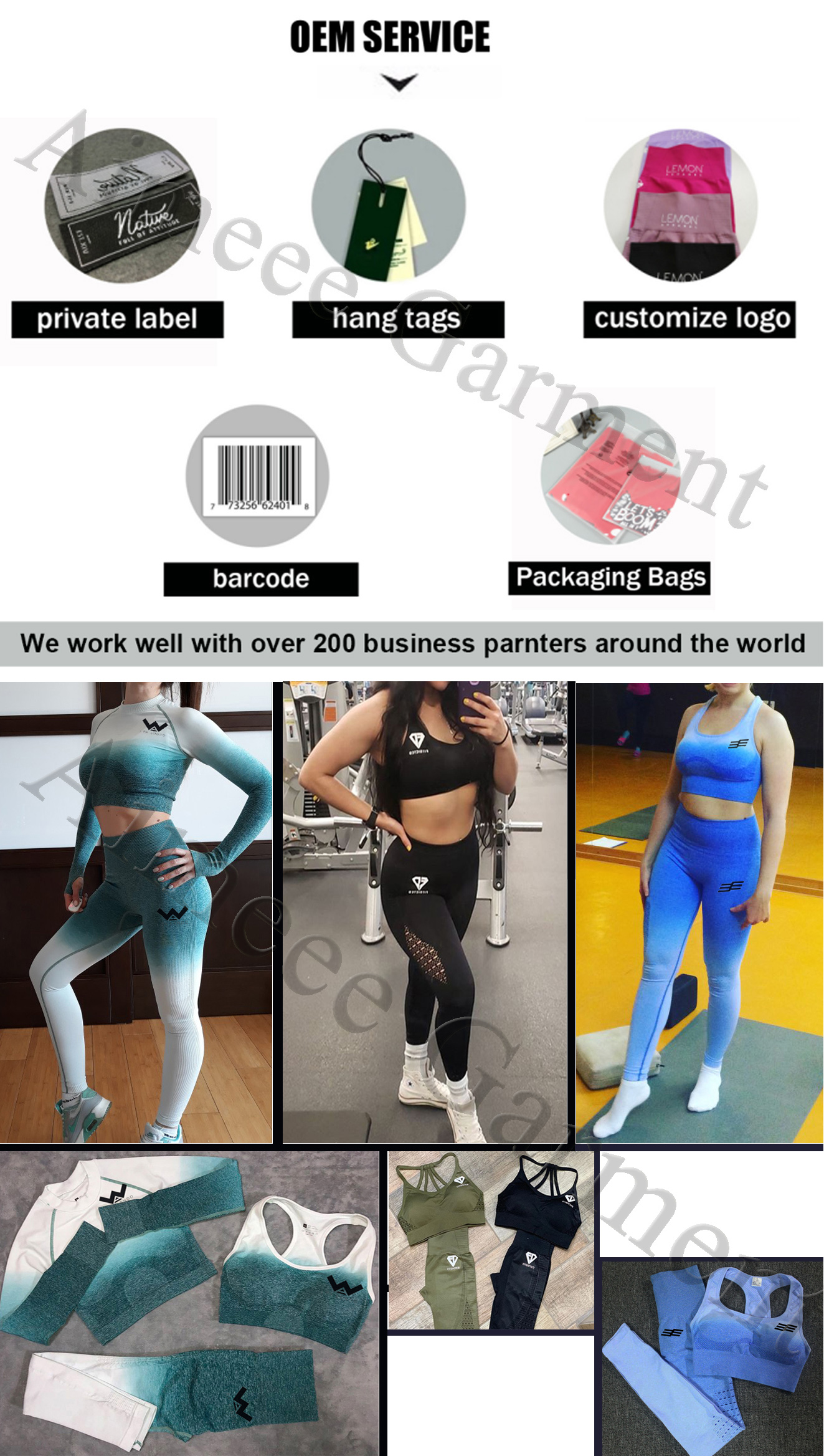 High Quality Workout Stacked  Hollow Out Sports Leggings For Women