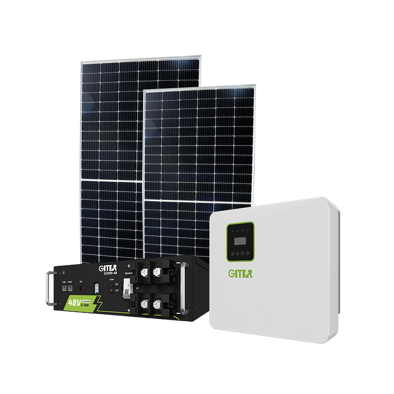 Giter Brand House Full Set Solar Power Energy 5kW Hybrid System