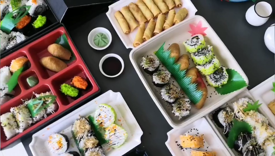 卸売漬けスタイルと塩味風味寿司生姜