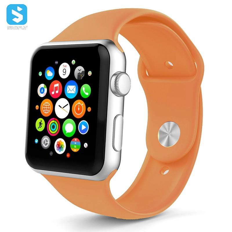 Màu Silicone Thể Thao Dây Đeo Đối Với Apple Ban Nhạc Đồng Hồ 38-40Mm/42-44Mm Vòng Đeo Tay Cao Su Watchband Cho Iwatch 4 3 2 1