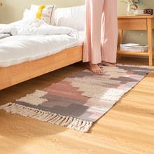 Хлопковые ковры с кисточками в стиле Марокко для гостиной, спальни, детской комнаты, домашний ковер, напольный коврик для дверей, коврик для ...(Китай)