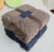 100% Polyester knitted baby floor receiving flannel  crawl blanket