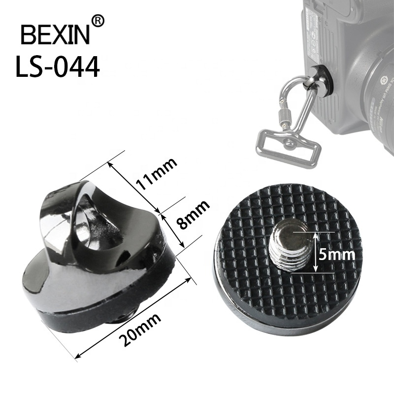 BEXIN tripod camera 1/4 Mount Connecting adapter <strong>Screw</strong> For DSLR SLR Camera Shoulder Sling Neck Strap Hook Belt Camera Bag Case