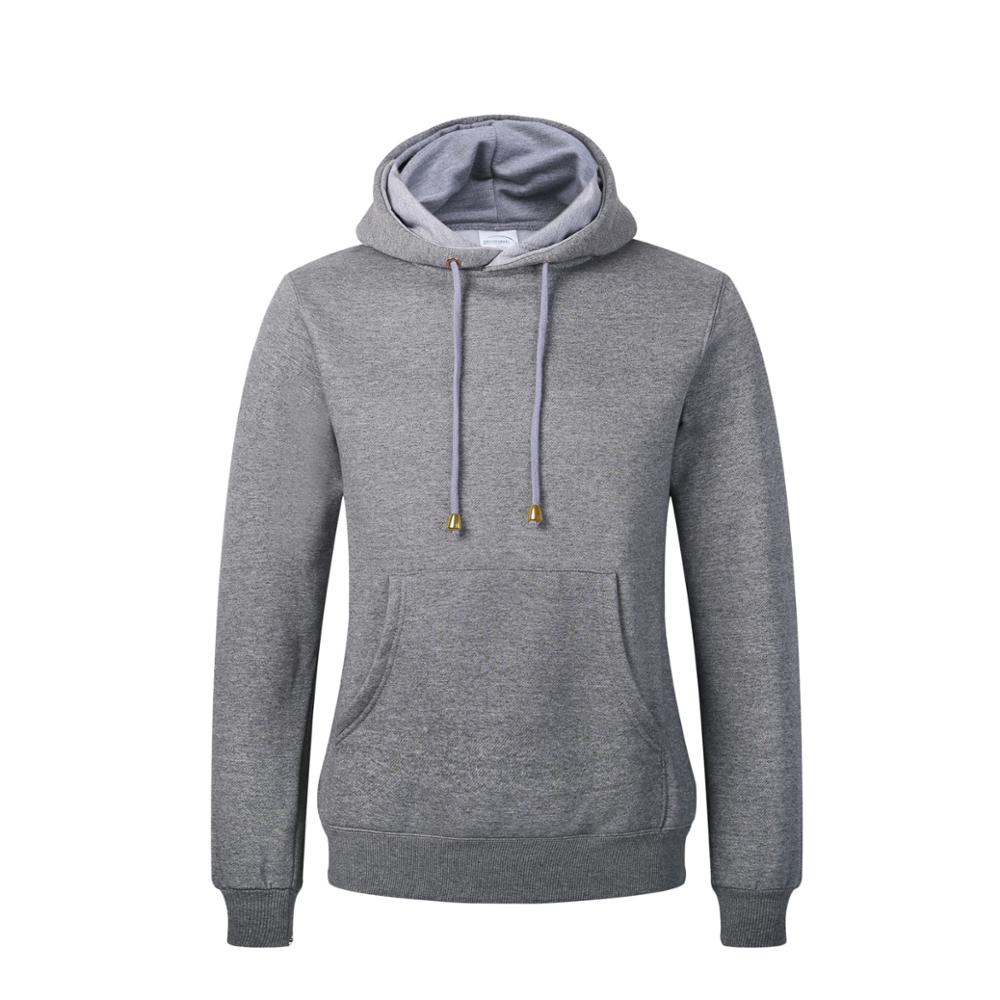 Wholesale Black Design Custom Logo Pullover Men's Plain Blank Hoodies Sweatshirts