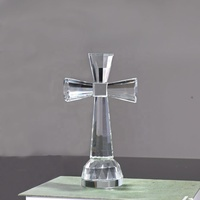 MH-C007 Crystal glass standing cross