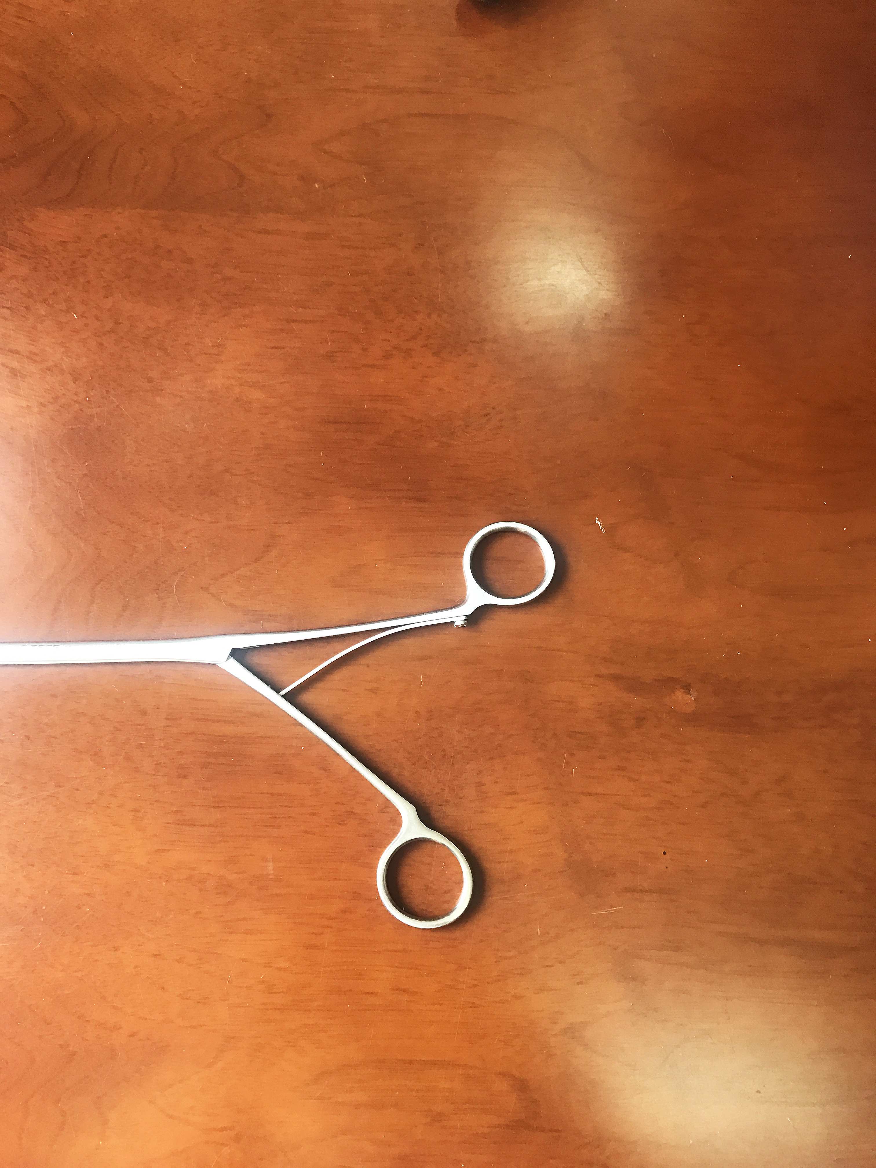 Thoracoscopic instruments double joints forceps surgical thoracoscopic needle holder