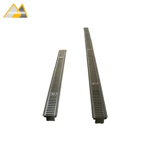 Audemar H series Commercial Combined Stainless Steel Trench Drain For Commercial Drainage Projects