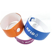 Cheapest Disposable Cashless Wristband DuPont Paper Bracelet no ic chip for party