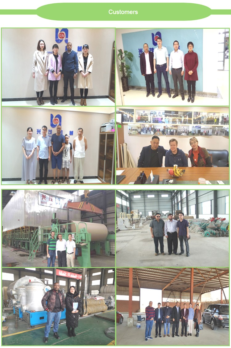 Paper rewinding embossing machine, hemp toilet paper making machine with high speed and long service life