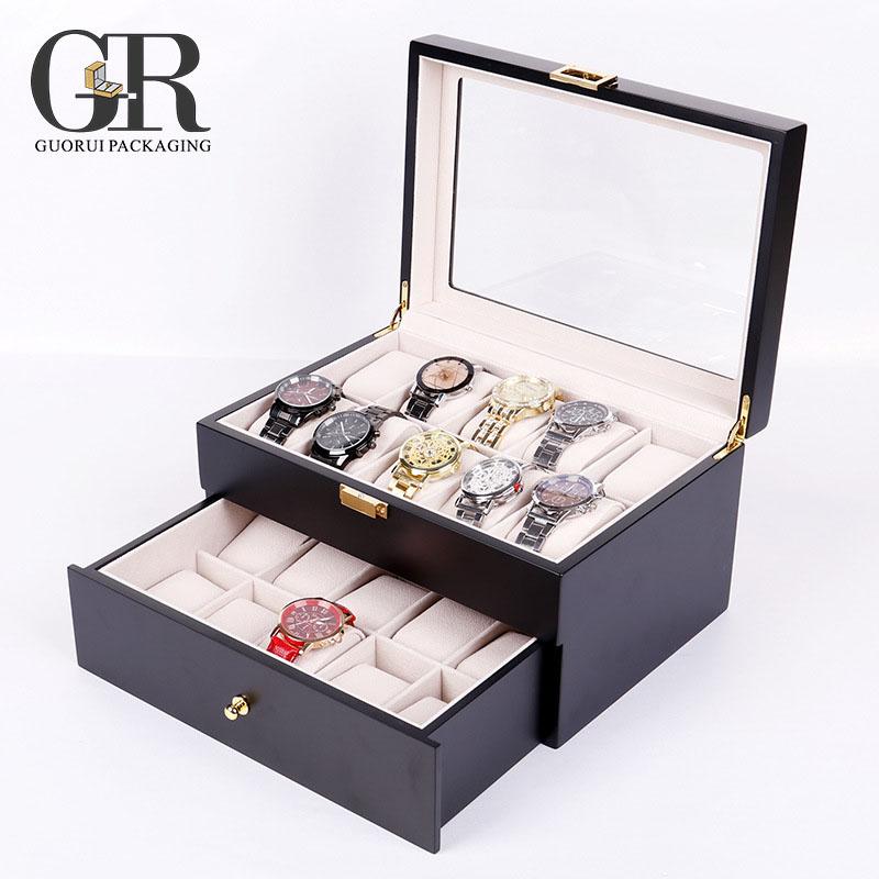 Grossiste présentoir coffret boîte à montre 20 montres